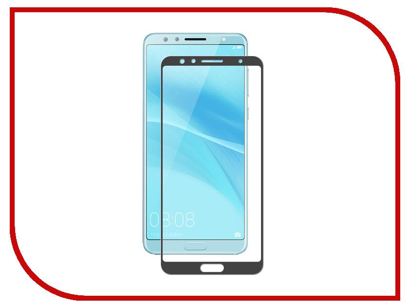Аксессуар Противоударное стекло для Huawei Nova 2S Innovation 2D Full Glue Cover Black 12711 cover co139 02