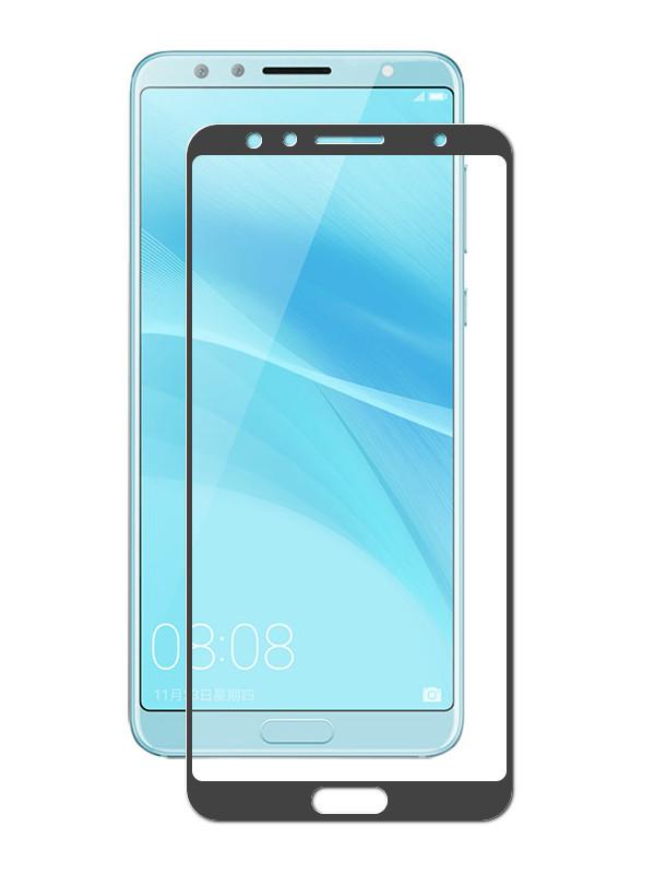 Аксессуар Противоударное стекло Innovation для Huawei Nova 2S 2D Full Glue Cover Black 12711 аксессуар противоударное стекло для xiaomi mi mix 2s innovation 2d full glue cover black 12776