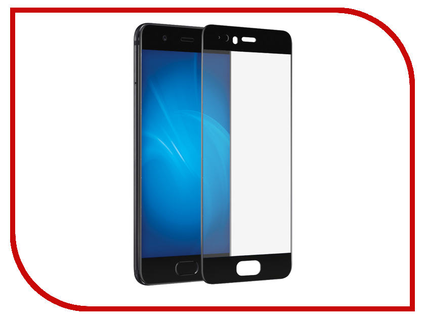 Аксессуар Противоударное стекло для Huawei P10 Innovation 2D Full Glue Cover Black 12657 аксессуар стекло противоударное для xiaomi mi 5s plus gurdini 2d full screen 0 26mm black