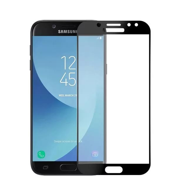 Противоударное стекло для Samsung Galaxy J5 2018 J530 Innovation 2D Full Glue Cover Black 12804