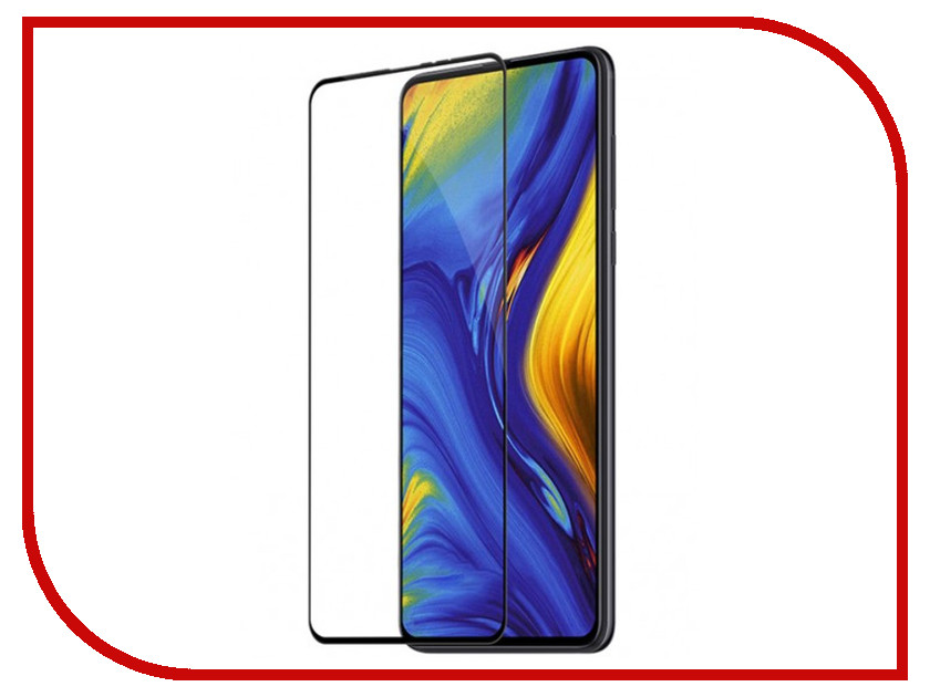 Аксессуар Противоударное стекло для Xiaomi Mi Mix 3 Pro Innovation 2D Full Glue Cover Black 12782 аксессуар стекло противоударное для xiaomi redmi note 5 pro mi 6x gurdini 2d full screen 0 26mm black 906231