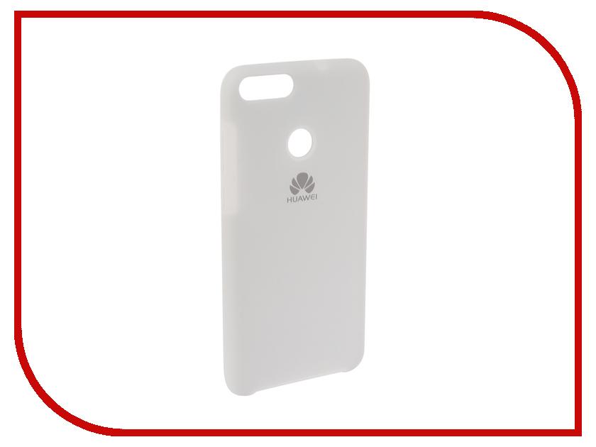 Аксессуар Чехол для Huawei P Smart /7S Innovation Silicone White 12837 цена и фото