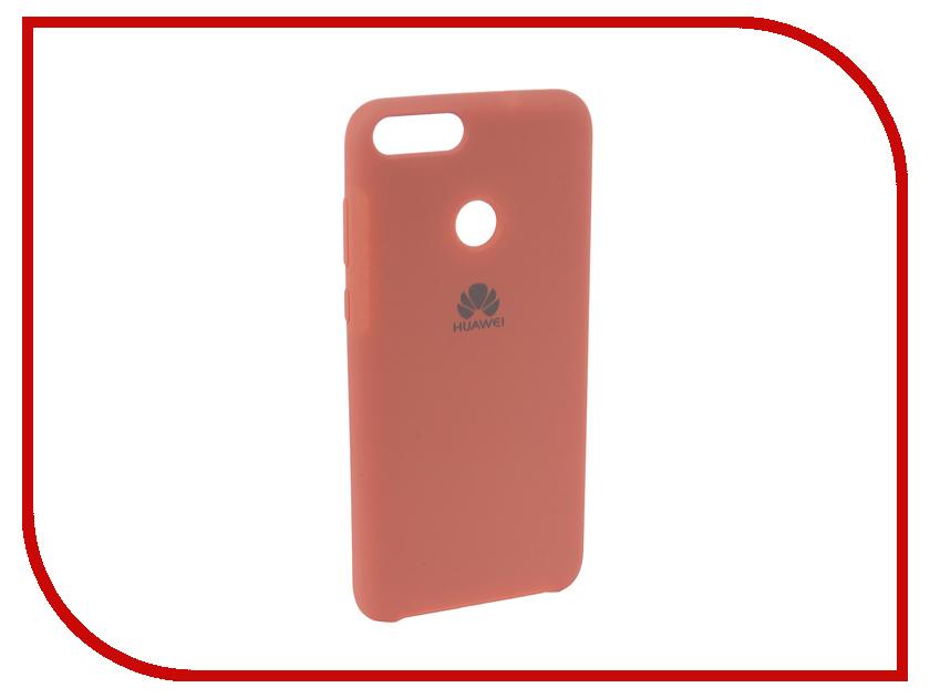 Аксессуар Чехол для Huawei P Smart /7S Innovation Silicone Pink 12840 аксессуар чехол для huawei p smart 7s innovation silicone pink 12840