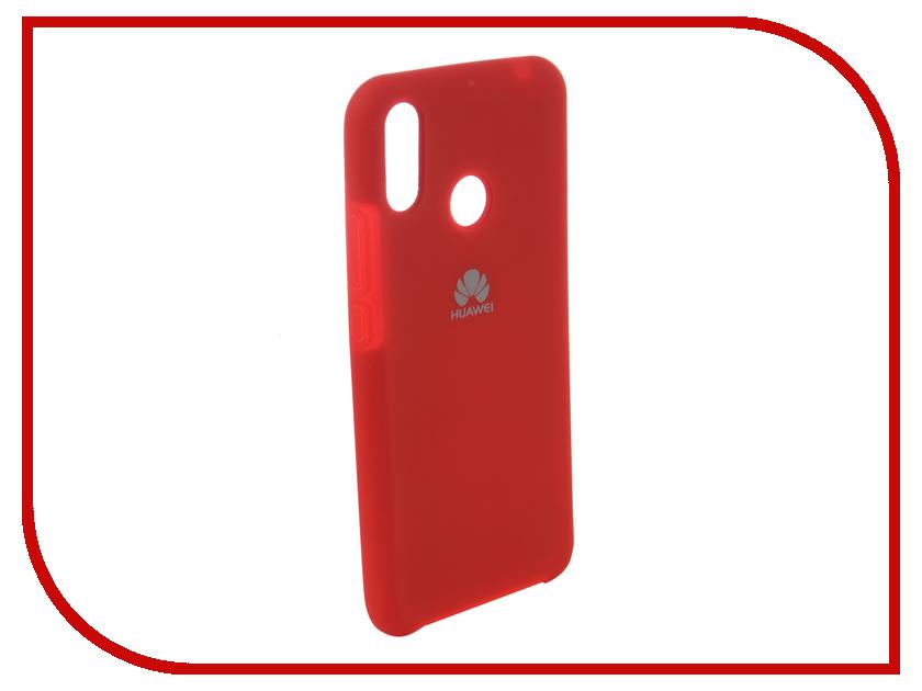 Аксессуар Чехол для Huawei Nova 3i Innovation Silicone Red 12828