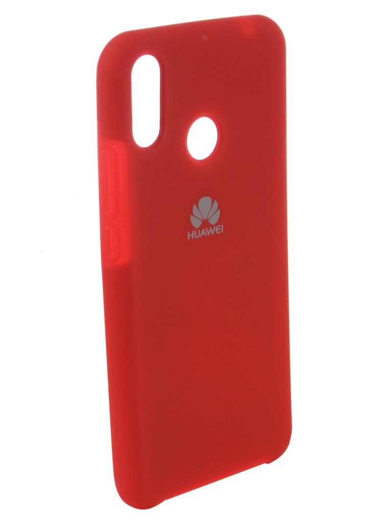 Аксессуар Чехол Innovation для Huawei Nova 3i Silicone Red 12828