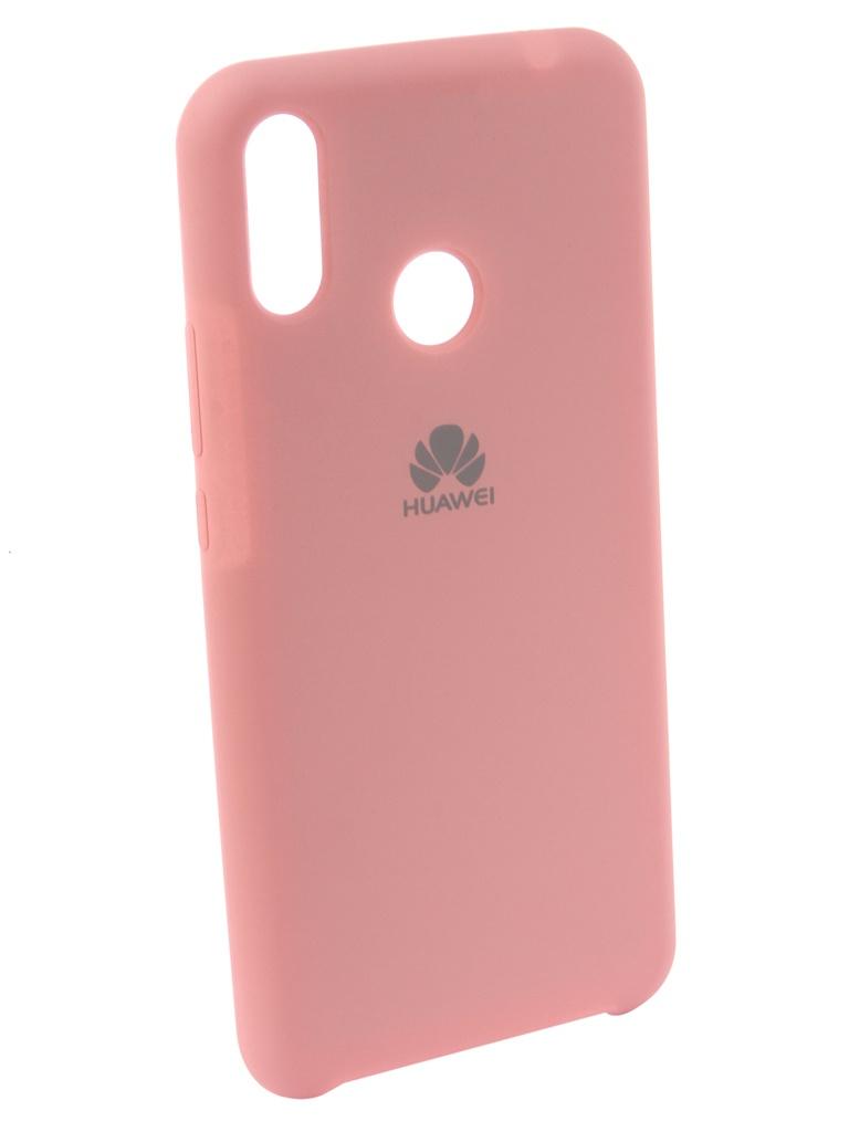 Чехол Innovation для Huawei Nova 3i Silicone Pink 12830