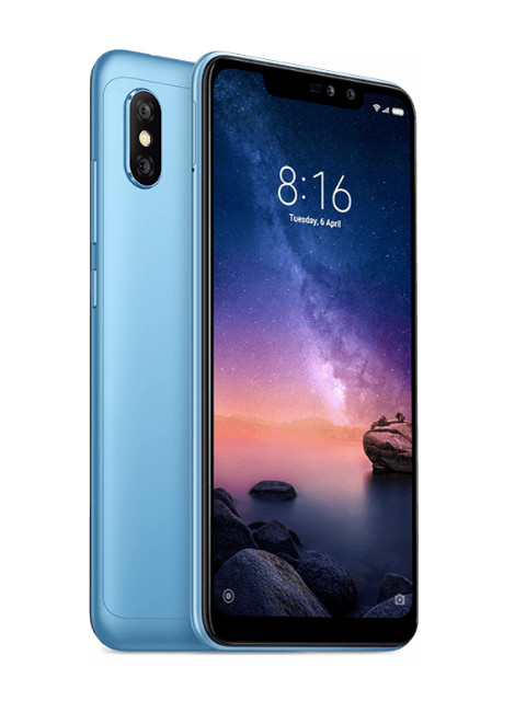 Сотовый телефон Xiaomi Redmi Note 6 Pro 4/64GB Blue телефон meizu pro 5 64gb серебристо черный