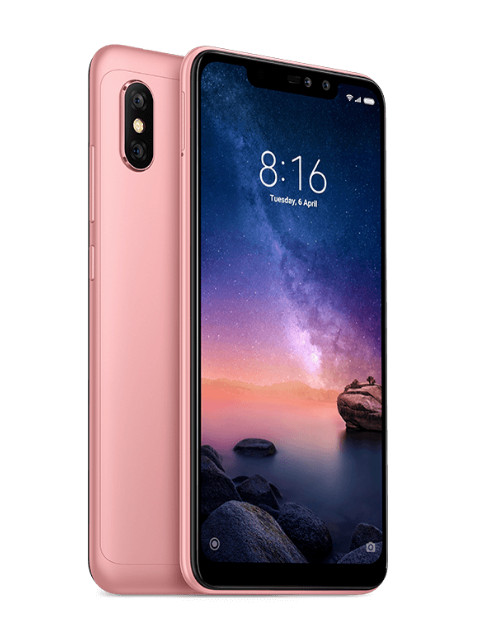 Сотовый телефон Xiaomi Redmi Note 6 Pro 4/64GB Rose Gold