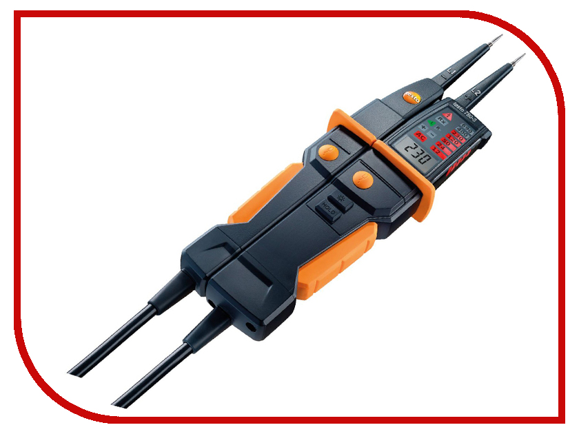 Тестер напряжения Testo 750-3 гигрометр testo 605 н1