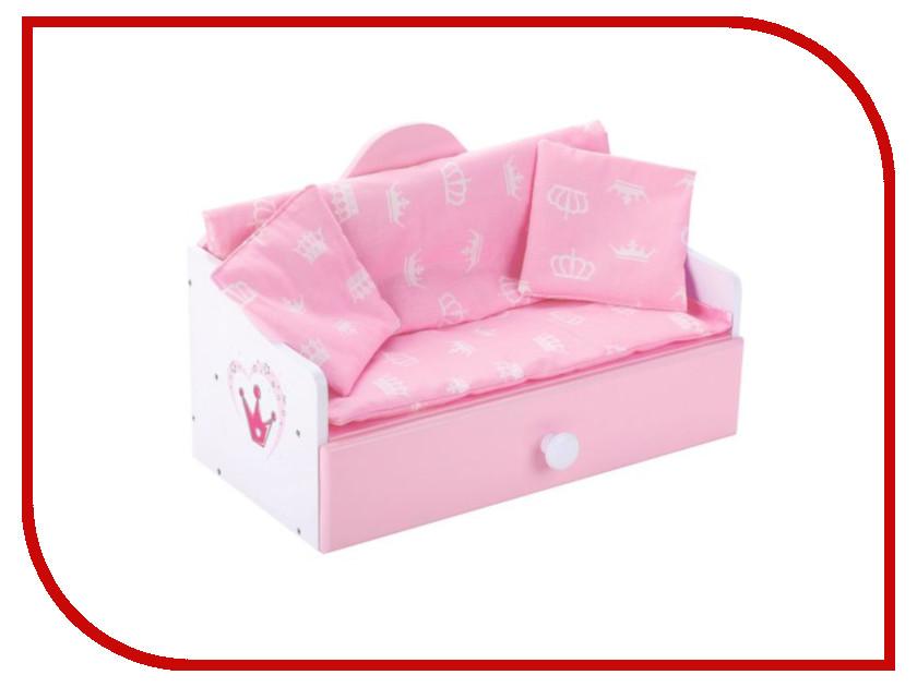 Кроватка для куклы Mary Poppins Корона 67366 mary poppins одежда для куклы mary poppins комбинезон корона