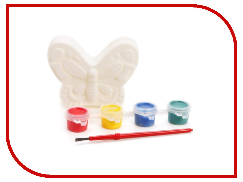 Color Puppy Роспись копилки Бабочка 95413 color puppy набор для творчества роспись копилки хрюша