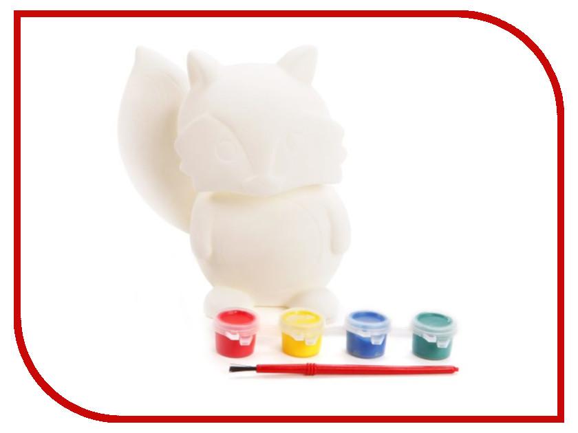 Color Puppy Роспись копилки Лиса 95408 color puppy набор для творчества роспись копилки хрюша