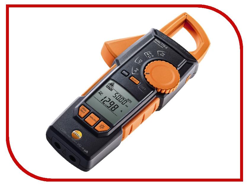Токовые клещи Testo 770-2 токовые клещи sinometer bm803a