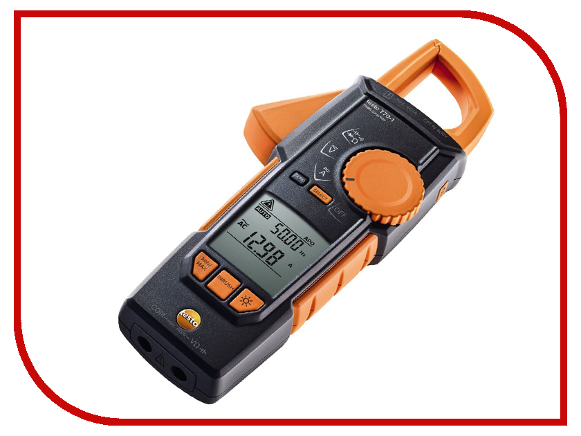 Токовые клещи Testo 770-1 токовые клещи em em303 dt303
