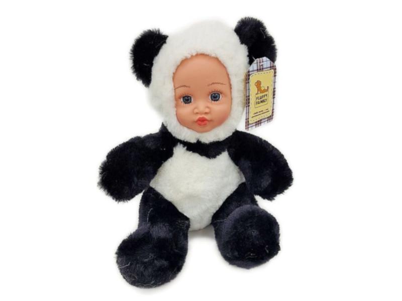 Игрушка Fluffy Family Крошка панда 681241 мягкая игрушка панда fluffy family крошка панда 30 см белый черный бежевый текстиль искусственный мех пластик 681241