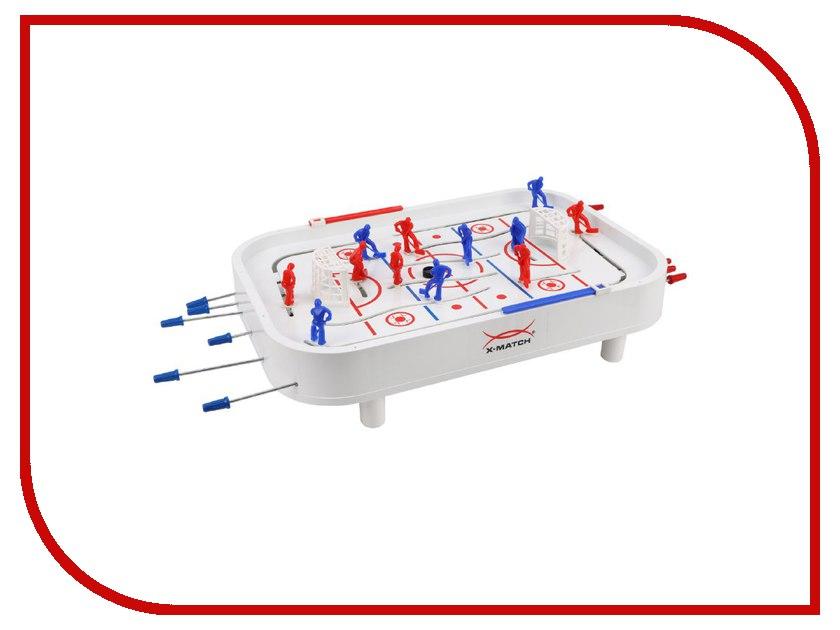Настольная игра X-Match Хоккей (941314) настольная игра stiga хоккей stanley cup