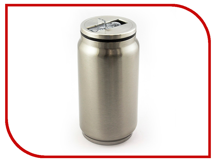 Термокружка Эврика Банка 330ml Metallic 99002