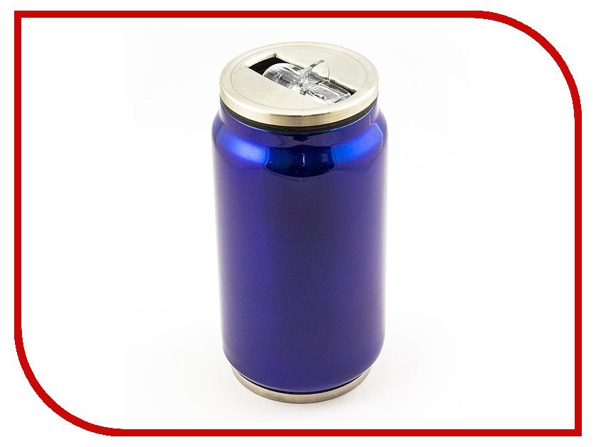 Термокружка Эврика Банка 330ml Blue 99004