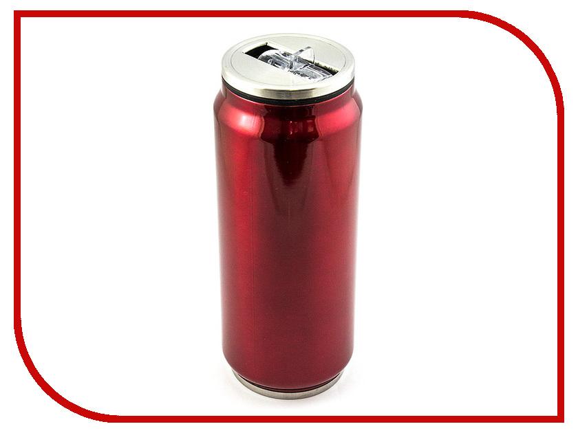 Термокружка Эврика Банка 500ml Red 99000 цены