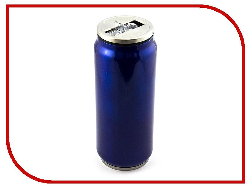 Термокружка Эврика Банка 500ml Blue 99001 цены