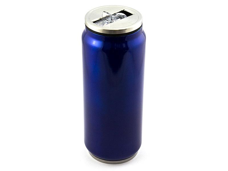 Термокружка Эврика Банка 500ml Blue 99001
