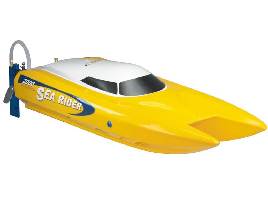 Радиоуправляемая игрушка Joysway Offshore Sea Rider Yellow JS9302
