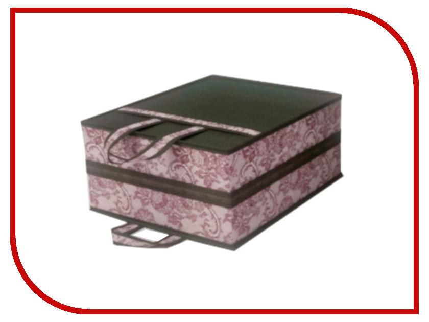Аксессуар Чемоданчик для хранения обуви Cofret Ажур 35x40x20cm на