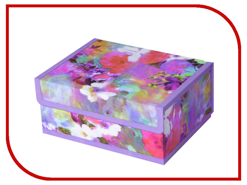 Аксессуар Короб для хранения Cofret Акварель 23x17x10cm 345