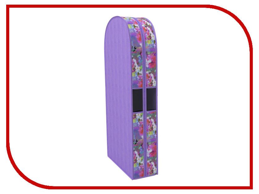 цена на Аксессуар Чехол для одежды Cofret Акварель 60x100x20cm двойной 304