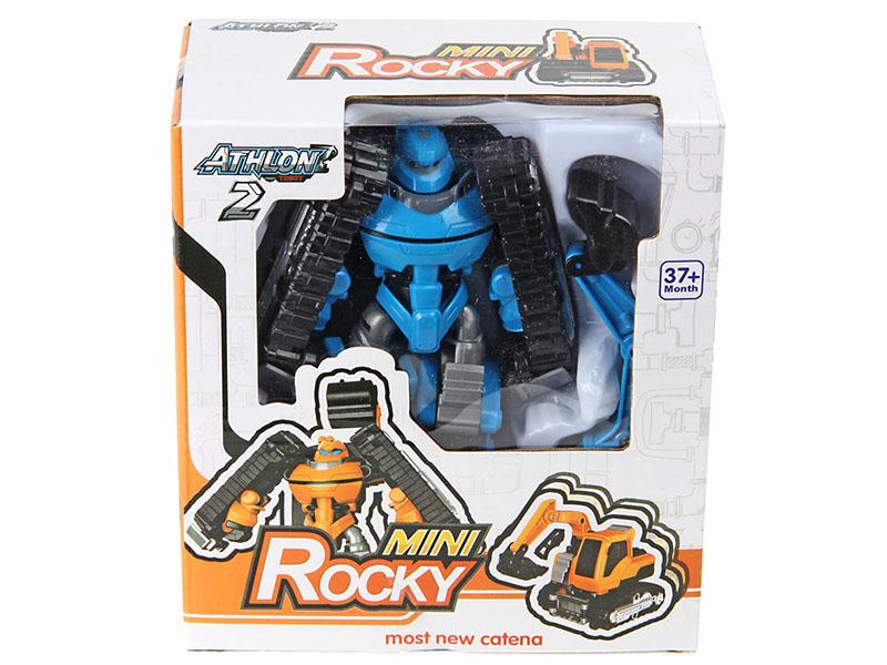 Игрушка Veld-Co Робот-трансформер Экскаватор 72745 коробка подарочная veld co giftbox трансформер нежные цветы цвет белый 10 3 х 10 3 х 9 8 см