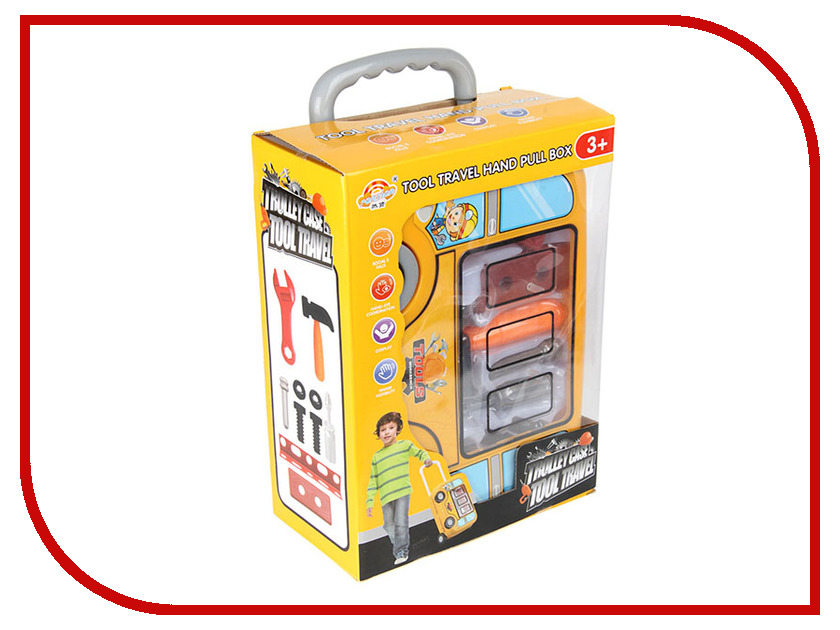 Набор инструментов в чемодане Veld-Co 73363 набор инструментов с очками и огнетушителем veld co 73361