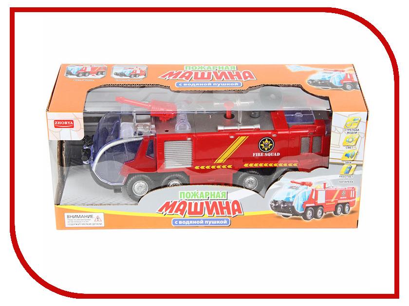 Игрушка Veld-Co Машина спецтехника Пожарная машина с водяной пушкой 71018 игрушка veld co машина спецтехника погрузчик для уборки снега 70985