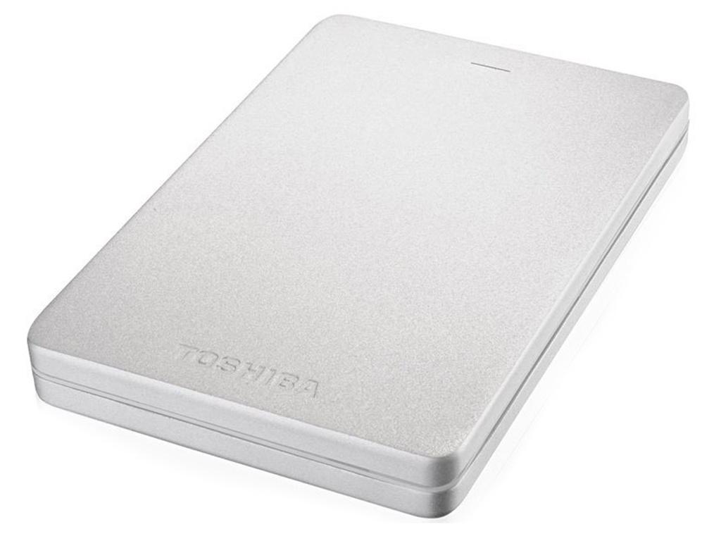 Жесткий диск Toshiba Canvio Alu 1Tb Silver HDTH310ES3AB