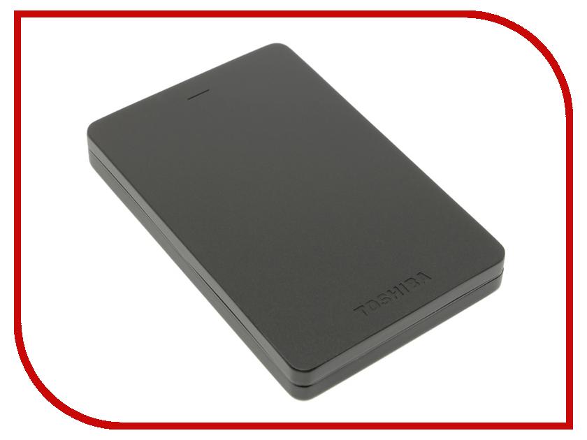 Жесткий диск Toshiba Canvio Alu 1Tb Black HDTH310EK3AB toshiba black