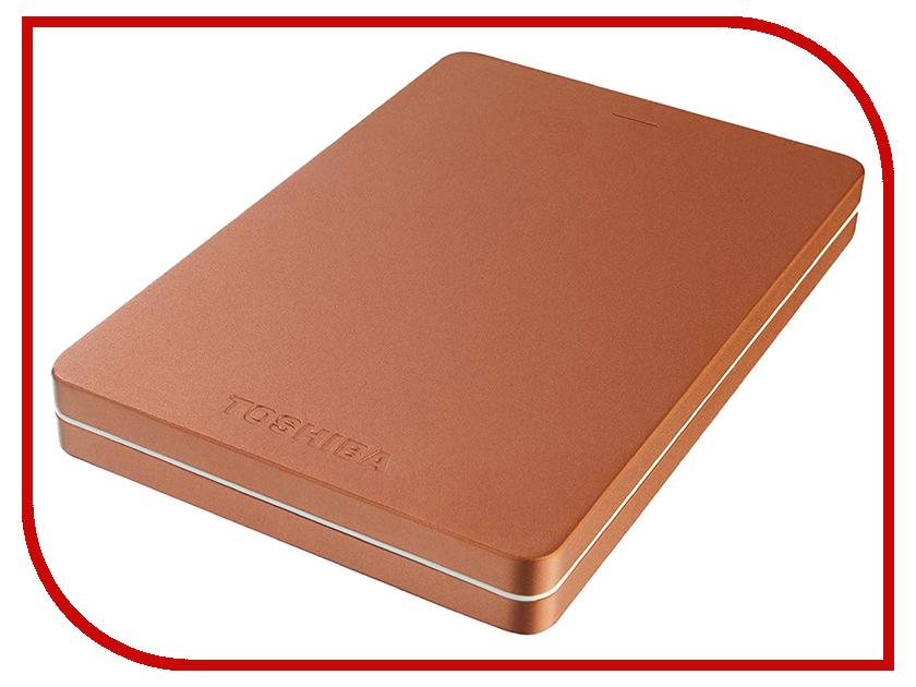 Купить Жесткий диск Toshiba Canvio Alu 2Tb Red HDTH320ER3AB
