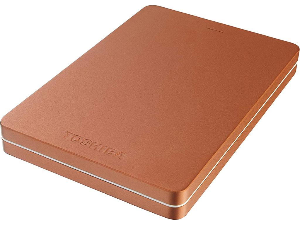 Жесткий диск Toshiba Canvio Alu 2Tb Red HDTH320ER3AB