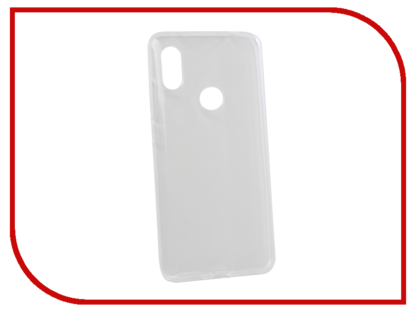 Аксессуар Чехол для Xiaomi Redmi Note 6 Zibelino Ultra Thin Case Transparent ZUTC-XMI-RDM-NOT6-WHT gumai ultra thin protective case for xiaomi 6 black