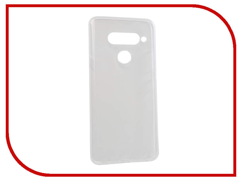 Аксессуар Чехол для LG V40 ThinQ Zibelino Ultra Thin Case Transparent ZUTC-LG-V40-WHT