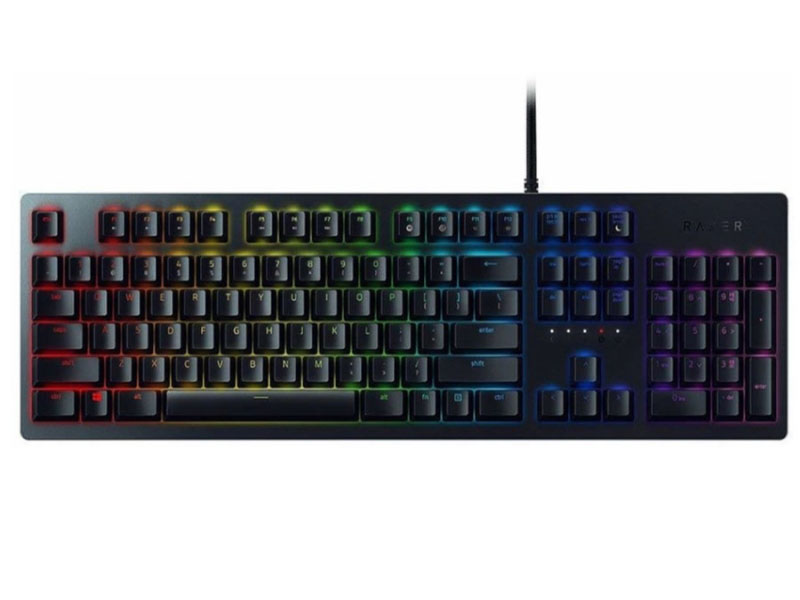 Клавиатура Razer Huntsman Black USB RZ03-02521100-R3R1 клавиатура razer blackwidow tournament 2014 черный rz03 00811900 r3r1