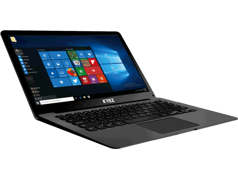 Ноутбук KREZ N1304 Black (Intel Celeron N3350 1.1 GHz/3072Mb/32Gb/No ODD/Intel HD Graphics/Wi-Fi/Bluetooth/Cam/13.3/1920x1080/Windows 10 Pro) ноутбук prestigio smartbook 141s psb141s01zfh db intel celeron n3350 1100 mhz 14 1 1920х1080 3072mb 32gb hdd intel® hd graphics 500 wifi windows 10 home