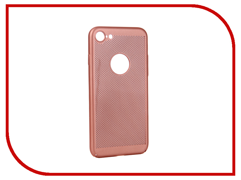 Аксессуар Чехол для APPLE iPhone 8 BROSCO Perforated Pink IP8-HOLE-PINK кондиционер toshiba ras 16bkvg ras 16bavg ee