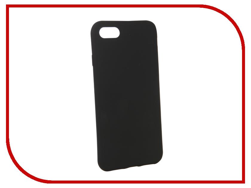 Аксессуар Чехол BROSCO для APPLE iPhone 8 Black Matte IP8-COLOURFUL-BLACK