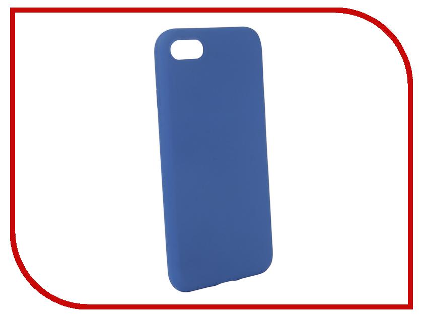 Аксессуар Чехол для APPLE iPhone 8 BROSCO Blue Matte IP8-COLOURFUL-BLUE аксессуар чехол 10 1 inch jet a ic 10 50 универсальный blue