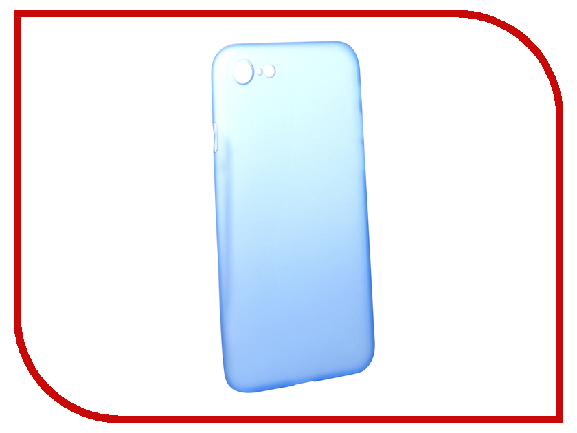 Аксессуар Чехол BROSCO Superslim для APPLE iPhone 7 Blue IP7-PP-SUPERSLIM-BLUE аксессуар чехол brosco superslim для apple iphone 7 white ip7 pp superslim white