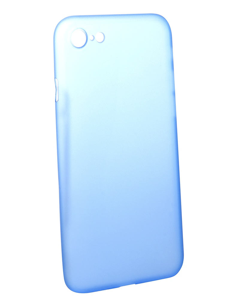все цены на Аксессуар Чехол Brosco для APPLE iPhone 7 Superslim Blue IP7-PP-SUPERSLIM-BLUE онлайн