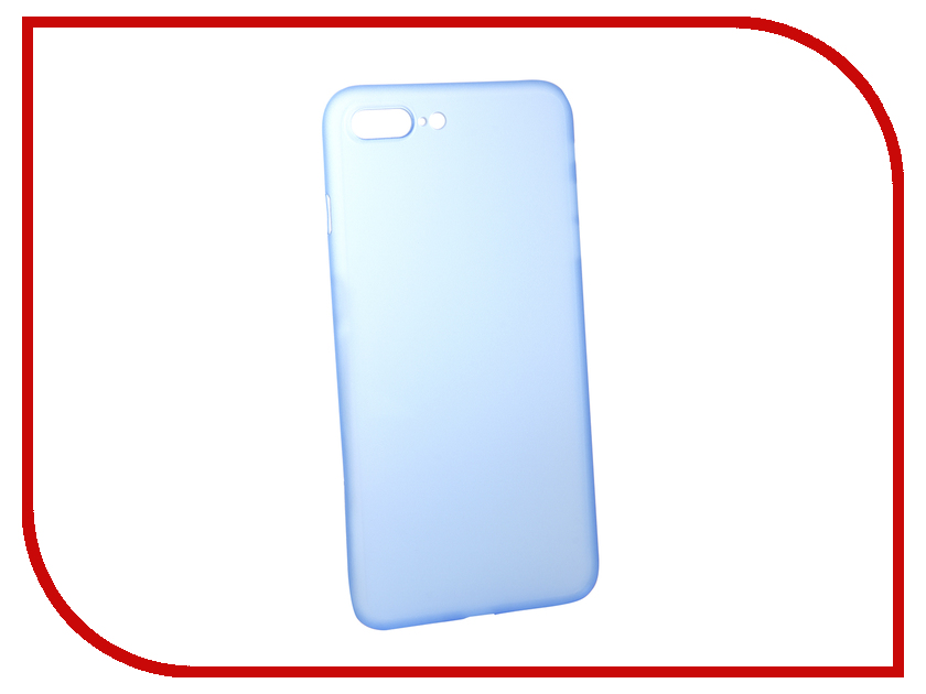 Аксессуар Чехол BROSCO Superslim для APPLE iPhone 7 Plus Blue IP7P-PP-SUPERSLIM-BLUE аксессуар чехол brosco superslim для apple iphone 7 white ip7 pp superslim white