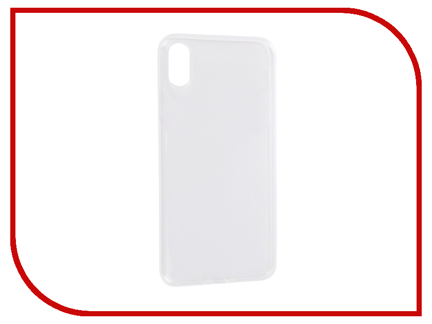 все цены на Аксессуар Чехол BROSCO Silicone для APPLE iPhone XS Max Transparent IPXSM-TPU-TRANSPARENT онлайн
