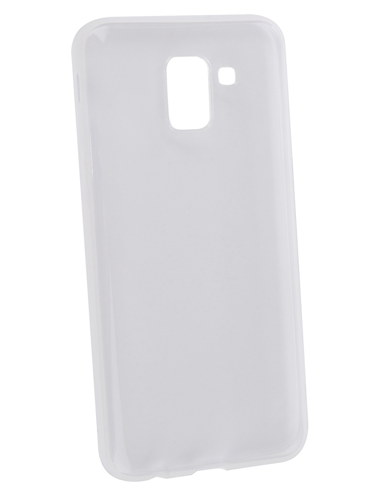Чехол Brosco для Samsung Galaxy J6 2018 Silicone Transparent SS-J6(8)-TPU-TRANSPARENT