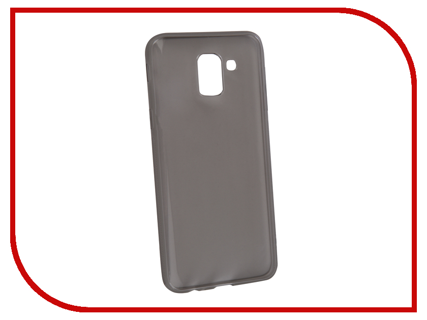 Аксессуар Чехол для Samsung Galaxy J6 2018 BROSCO Silicone Black SS-J6(8)-TPU-BLACK аксессуар чехол для samsung galaxy s9 brosco black ss s9 4side st black