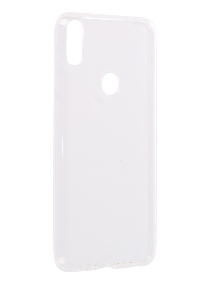 Чехол Brosco для ASUS ZenFone Max Pro M1 ZB602KL Silicone Transparent AS-ZFMPM1-TPU-TRANSPARENT